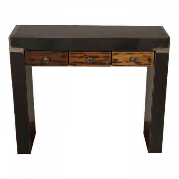 Sequoia steel console