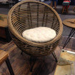 rattan Ball arm chair