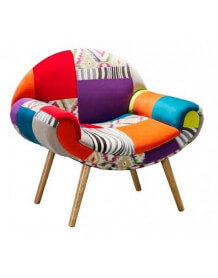 Fauteuil Patchwork colore Hippie Chic