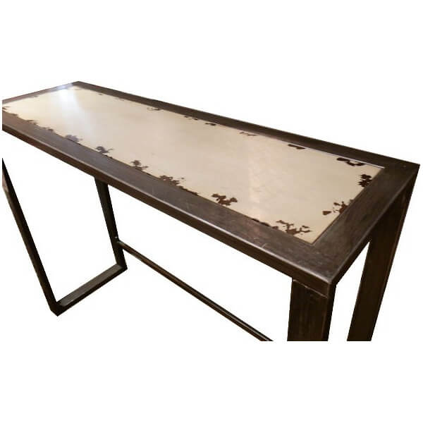 Ivoire steel console