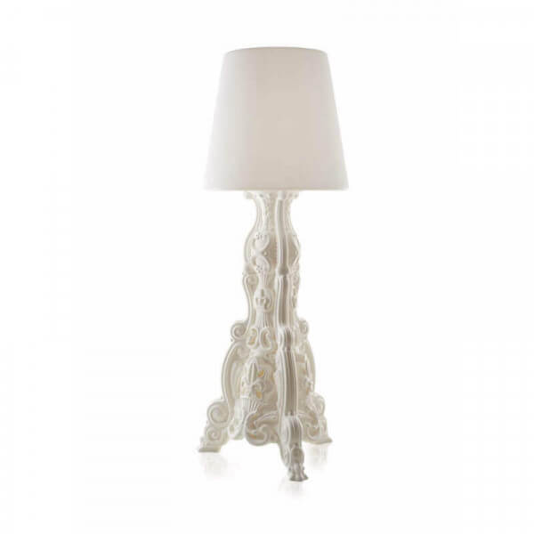 Lampadaire Madame of Love blanc