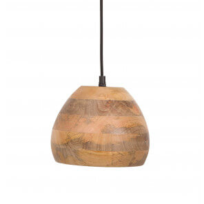 Woody pendant lamp