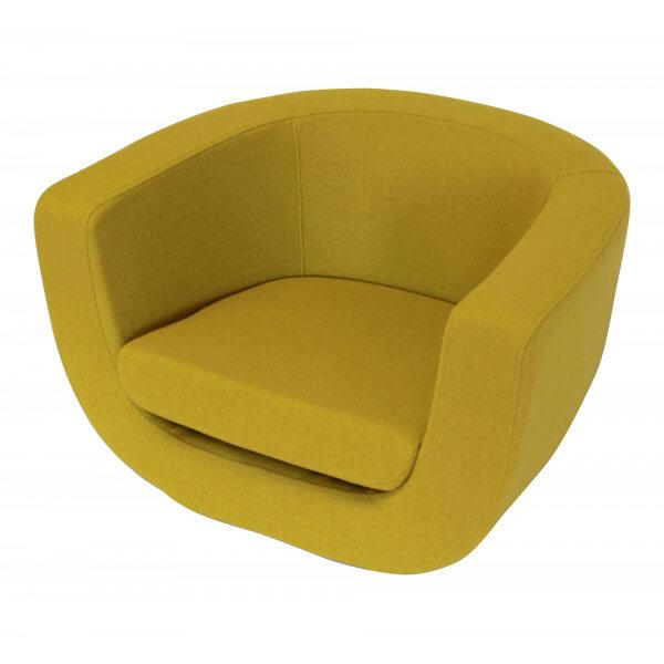 Fauteuil lounge mathidesign vente mobilier decoration for Mobilier design fauteuil