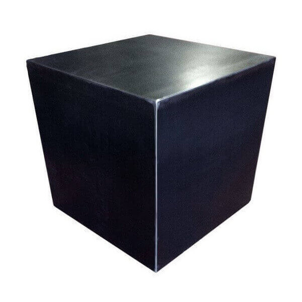 Crude steel cube design