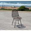 Chaise design rotin Kubu