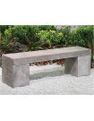 Massive concrete bench 2