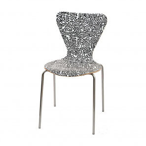 Dining chair Keith Haring