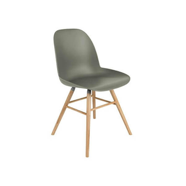 White Dining chair Zuiver