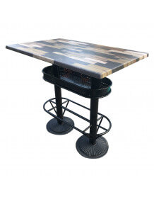 Industrial style bar table 110 Graffiti