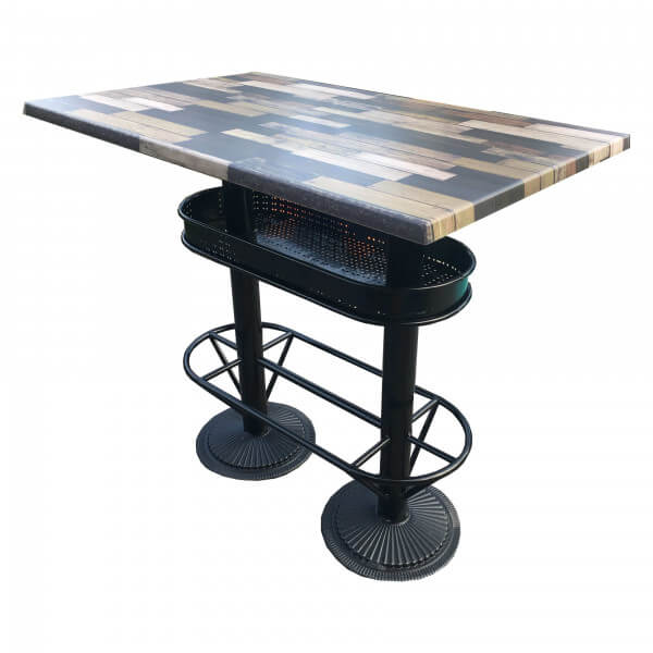 Industrial heigh table Deauville