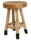 NATURE - Tabouret en bois naturel