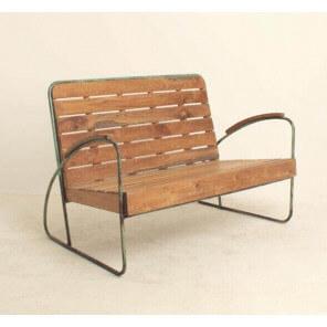 bancs design beton acier bois mathi design. Black Bedroom Furniture Sets. Home Design Ideas