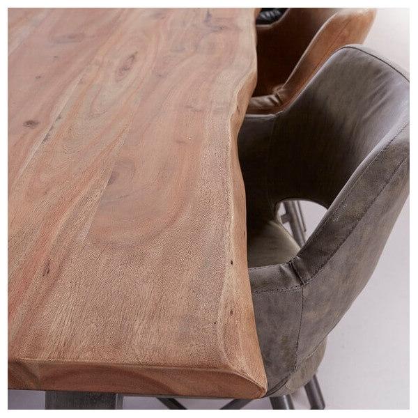 table repas massive. Black Bedroom Furniture Sets. Home Design Ideas