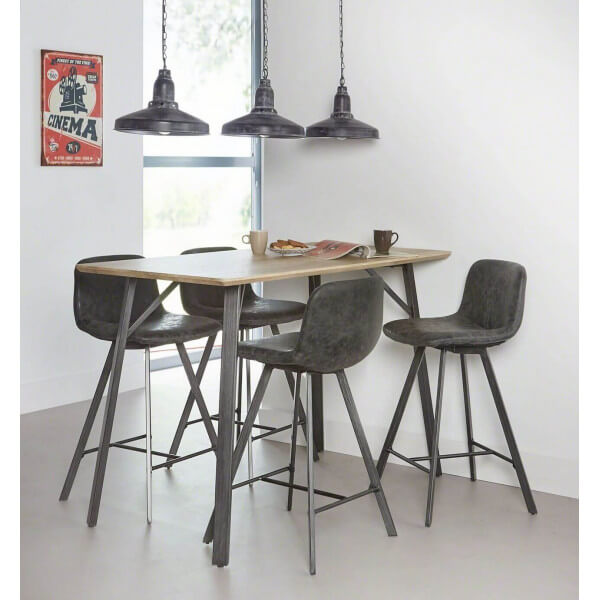 Kitchen Table High: High Table 140