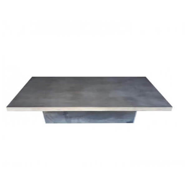 table basse beton acier. Black Bedroom Furniture Sets. Home Design Ideas