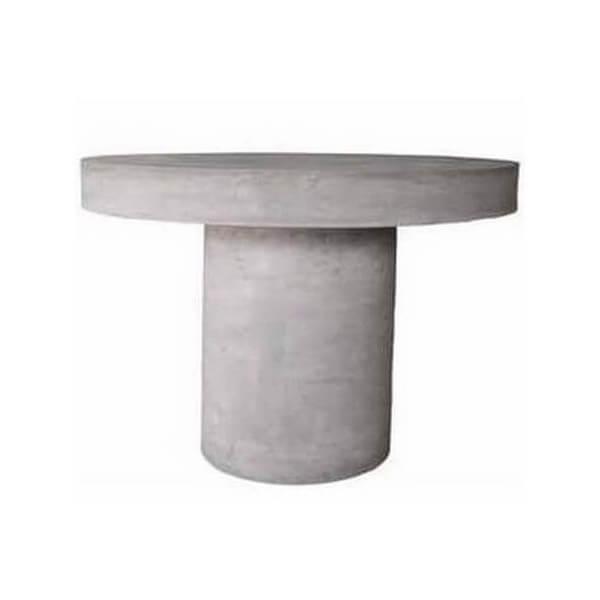 Table d\'extérieur & de jardin: table en béton/bois/pvc - Mathi Design