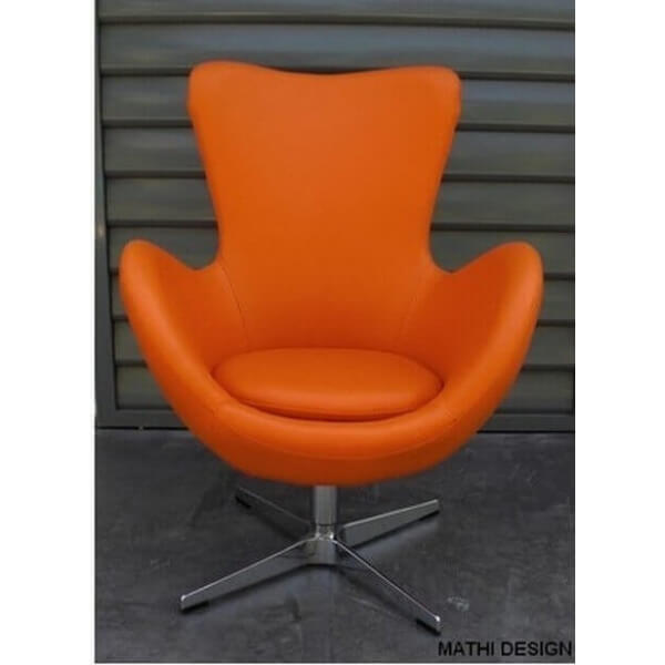 Orange Cocoon chair
