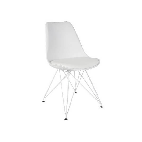 White Design chair
