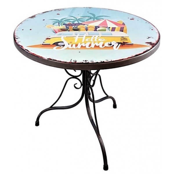 Round dining table California