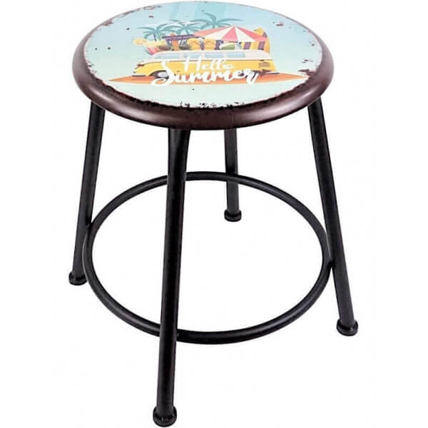 Round stool California