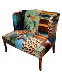 Jungle Patchwork bench