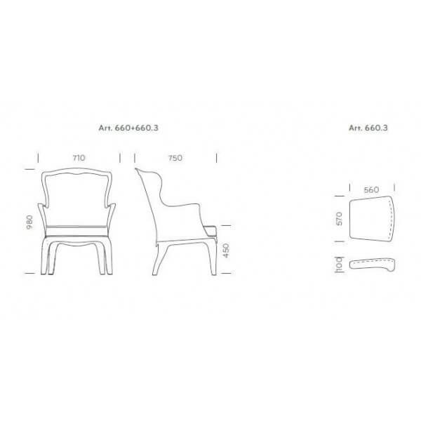 ... Pedrali Arm Chair Pasha ...