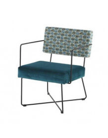 Blue Fifties armchair