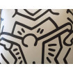 Coussin Black&White Keith Haring
