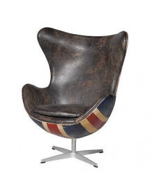 Union Jack Hirshorn chair