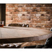 Table salle a manger ronde bois