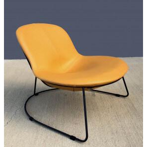 Fauteuil design Duck jaune
