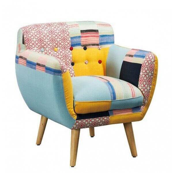 Lulea patchwork armchair