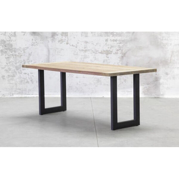 Table atelier bois acier industriel - Table atelier industriel ...