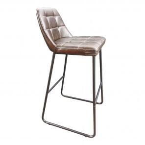 Capiton bar chair