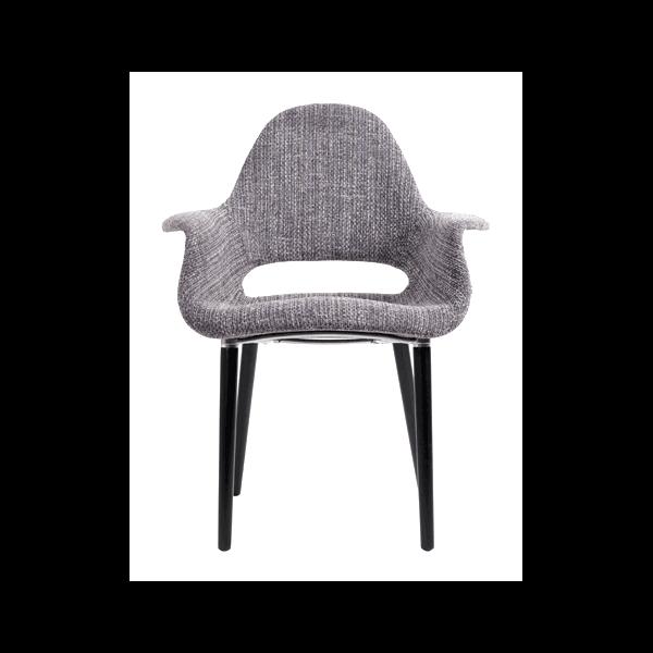 Fauteuil Oslo Tweed Fauteuil Style Sixties D Coratif Beau Tissu Tweed De Qualit