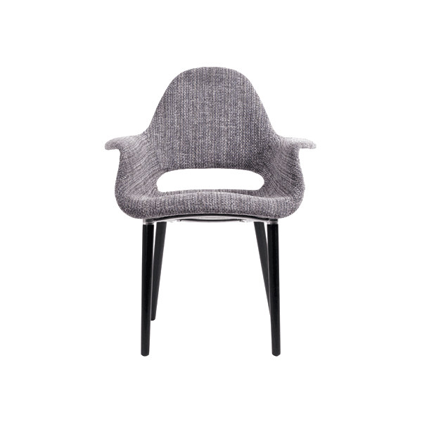 fauteuil oslo tweed fauteuil style sixties d coratif beau tissu tweed de qualit. Black Bedroom Furniture Sets. Home Design Ideas