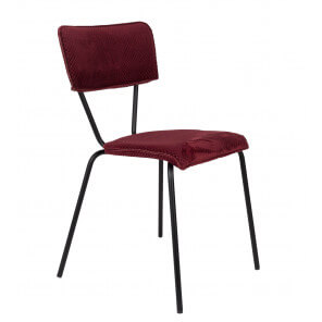 Red Meloni dining Chair
