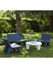 LOW LITA - Large Lounge garden set Slide