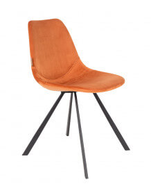 Chaise de repas Franky orange