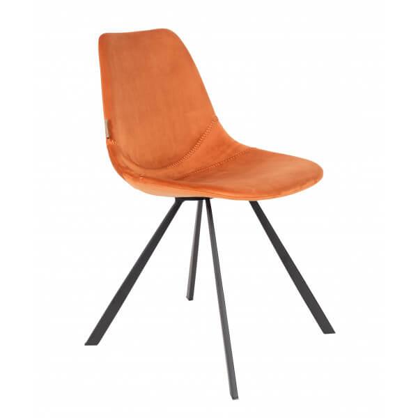 Chaise de repas Franky orange