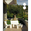 White Outdoor Lounge set Slide