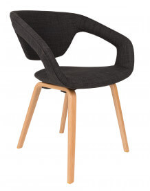 Chaise Flexback anthracite Zuiver