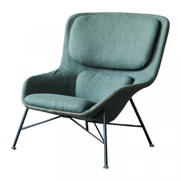 Green Rockwell Armchair