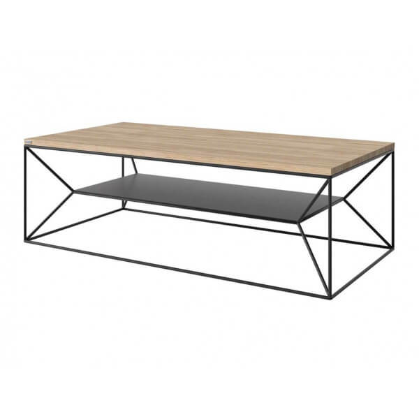 Table basse design chene