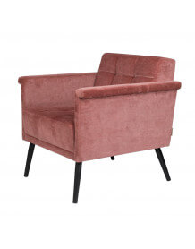 Pink Sir William armchair