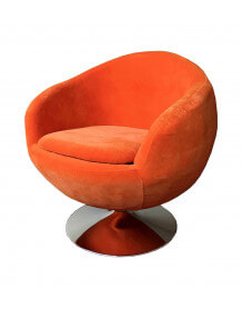 Fauteuil design Ball orange