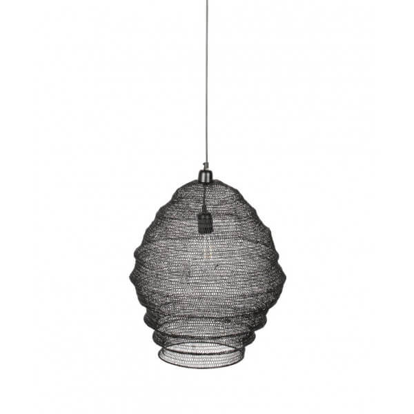 Black pendant lamp Maille