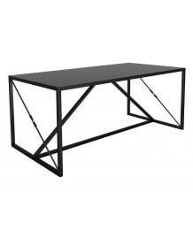 Black steel Dining or desk table