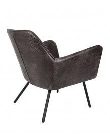 Alabama lounge chair black