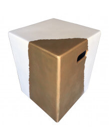 Concrete cube Gold